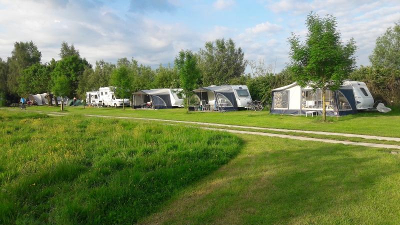 Ruime plaatsen met veel groen NL-kamperen