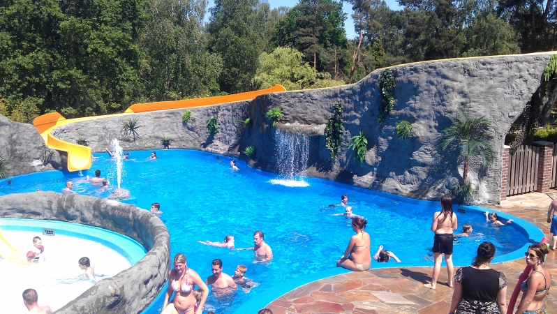 Zwembad NL-kamperen