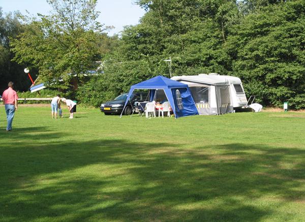 Camping in natuurgebied Herperduin/de Maashorst