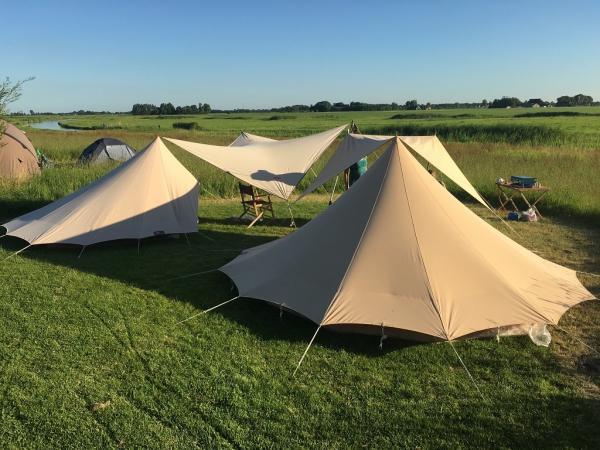 Kamperen in het veld NL-kamperen